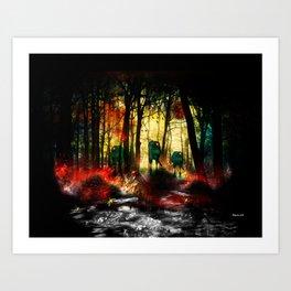 The Invasion.  Art Print