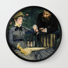 Edouard Manet - In the Conservatory Wall Clock
