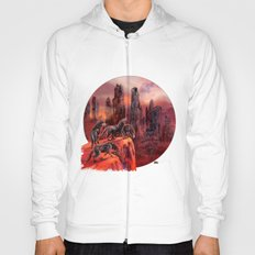 Wolves of Future Past landscape Hoody
