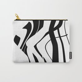Organic No.4 Black & White #design #society6 #artprints Carry-All Pouch