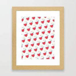 heart hearts Framed Art Print