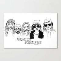 cactei Canvas Prints featuring Sticky Fingers  by ☿ cactei ☿