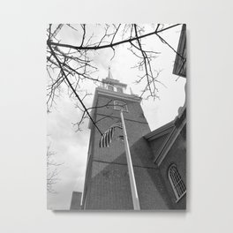 North Church photography Metal Print