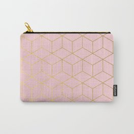 Elevated glam - millennial pink Carry-All Pouch
