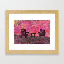 Chairs of PEI (B) Framed Art Print