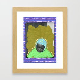 Acquiring Superpowers Framed Art Print