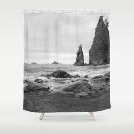 Northwest Coast Shower Curtain
