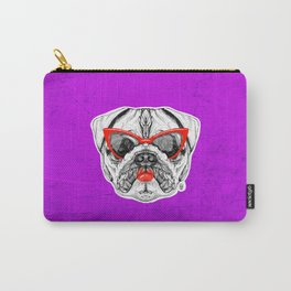 Lady Pug Carry-All Pouch