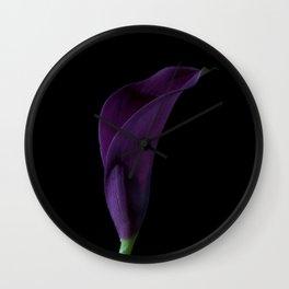 The Calla Purple 2 Wall Clock