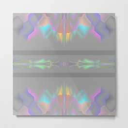 Shades of gray with colors Metal Print