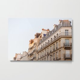 Along the Seine Metal Print