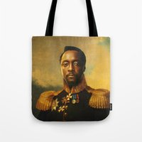 replaceface Tote Bags featuring will.i.am - replaceface by replaceface