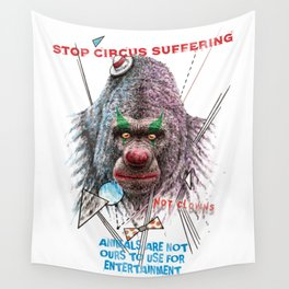 Not Clowns Wall Tapestry