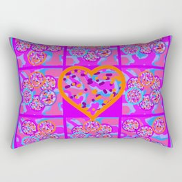 Imaginative Space About Love Rectangular Pillow