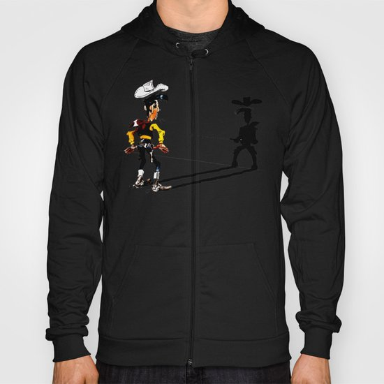 OUUUPS! - wooden wall version Hoody