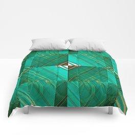 Patrick's Pleated Plaid Comforters
