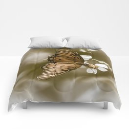 Monarch Butterfly  Comforters