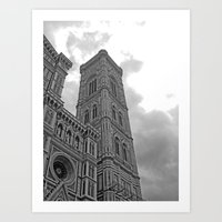 florence Art Prints featuring Florence by Scumbagsam