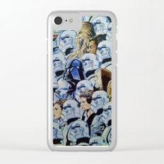 Star war Guerra Galaxias Clear iPhone Case