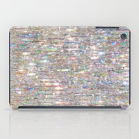 hologram iPad Cases featuring To Love Beauty Is To See Light (Crystal Prism Abstract) by soaring anchor designs