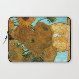 Vincent van Gogh - Still Life Vase with Twelve Sunflowers Laptop Sleeve
