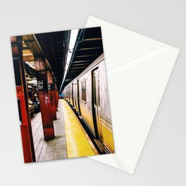 Subway 34 st, Manhattan, NYC Stationery Cards