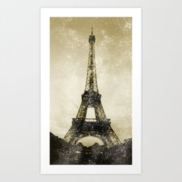 Paris Flea Market Art Print