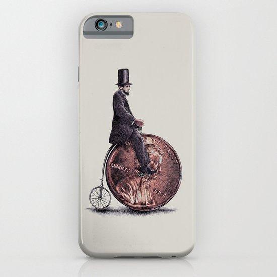 Penny Farthing (grey option) iPhone & iPod Case