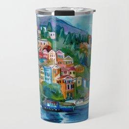 Symi island Travel Mug