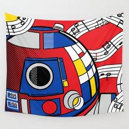 Star Wars Pop Art - Abstract R2D2 Wall Tapestry