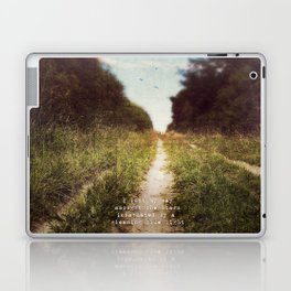 the long road home Laptop & iPad Skin