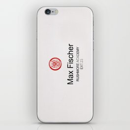 Rushmore Academy Card iPhone Skin