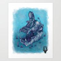 Ikanponus, the rising hibrid! Art Print
