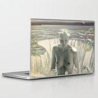 bath Laptop & iPad Skins featuring THE BATH by Julia Lillard Art