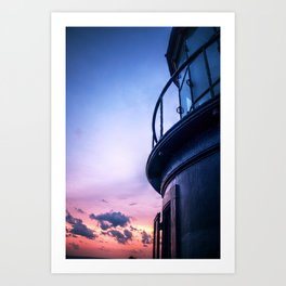 Up on Cape Hatteras Art Print