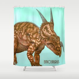 Einiosaurus Shower Curtain