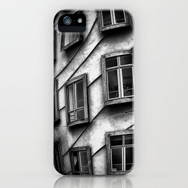 Geometrie praghesi [dancing house | Prague] iPhone Case