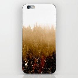 Warm Pines iPhone Skin