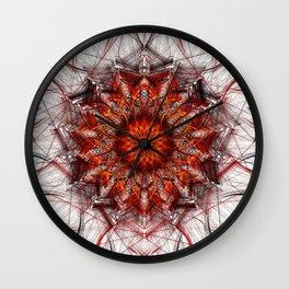 Scorching Sun Wall Clock