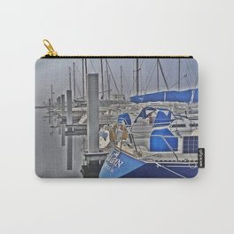 N is for Nautical (Sailboat) Carry-All Pouch