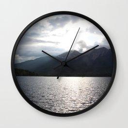 Pyramid Lake 1 Wall Clock