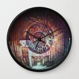 Eye Dreams Keep Quiet Wall Clock