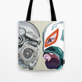 Robots vs. Wrestlers: The Best Tradition Ever Tote Bag