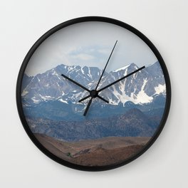 There In The Mountains (Sierra Nevadas, California) Wall Clock