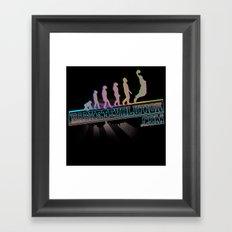 Staz Evolution Framed Art Print