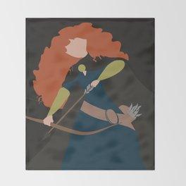Merida - Brave - Minimalist Throw Blanket