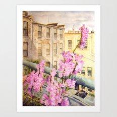Urban Beauty Art Print