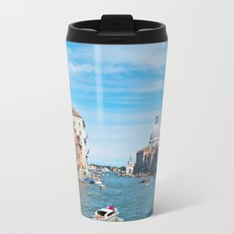 View from the bridge in Venice Travel Mug