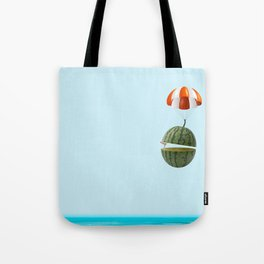 flying my watermelow Tote Bag