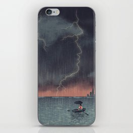 Trump and Climate Change iPhone Skin